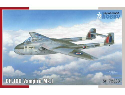 Special Hobby DH 100 Vampire Mk.I 1:72 (72383)