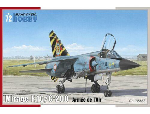 Special Hobby Mirage F.1C/C-200'Armee de I Air 1:72 (72388)