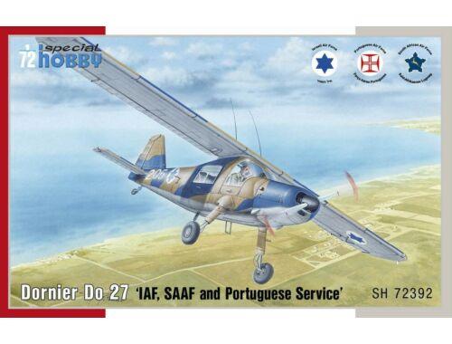 Special Hobby Dornier Do 27 IDF, SAAF and Portugese Service 1:72 (72392)
