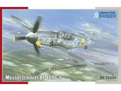 Special Hobby Messerschmitt BF-109G-6 Mersu over Finla Mersu over Finland 1:72 (72394)