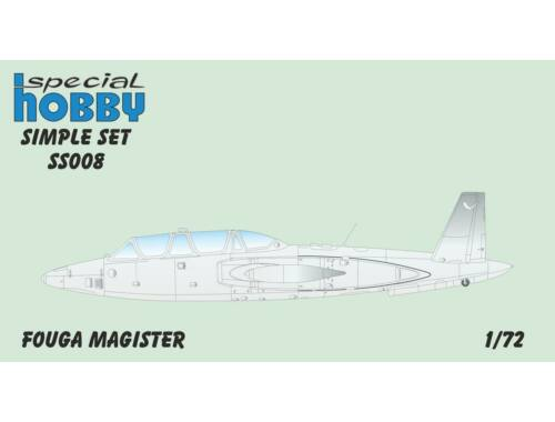 Special Hobby Fouga Magister Simple Set 1:72 (SS008)