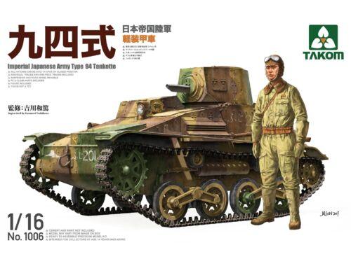 Takom IJA Type 94 Tankette 1:16 (1006)
