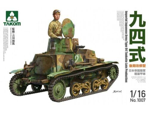 Takom IJAType 94 Tankette Late Produktion 1:16 (1007)