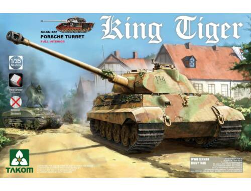 Takom WWII German Heavy Tank Sd.Kfz.182 King 1:35 (2074S)