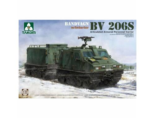 Takom Bandvagn Bv 206S Articulated Armored Personnel Carrier 1:35 (2083)