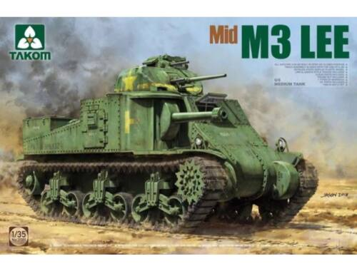 Takom US Medium Tank M3 Lee Mid 1:35 (2089)