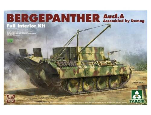 Takom Bergepanther Ausf.A Assembled by Demag production w/full interior 1:35 (2101)