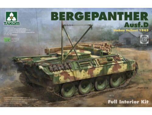 Takom Bergepanther Ausf.D Umbau Seibert 1945 production w/full interior 1:35 (2102)