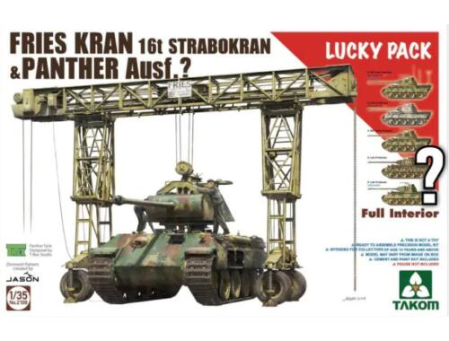 Takom FRIES KRAN 16t Strabokran1943/44 Product 1:35 (2108)