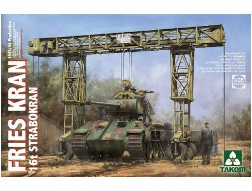 Takom FRIES KRAN 16t Strabokran,1943/44Product 1:35 (2109)
