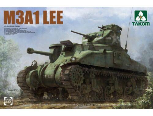 Takom US Medium Tank M3A1 LEE 1:35 (2114)