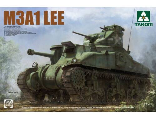 Takom US Medium Tank M3A1 LEE 1:35 (2114)
