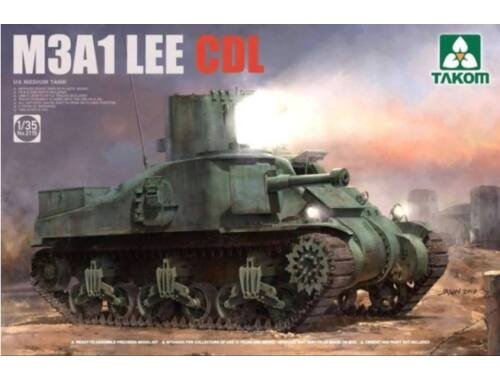 Takom US Medium Tank M3A1 LEE CDL 1:35 (2115)