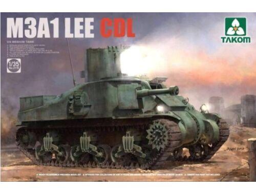 Takom US Medium Tank M3A1 LEE CDL 1:35 (2115)