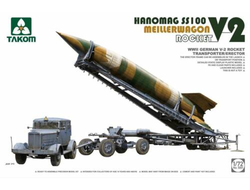 Takom WWII German V-2 Rocket Transporter 1:72 (5001)