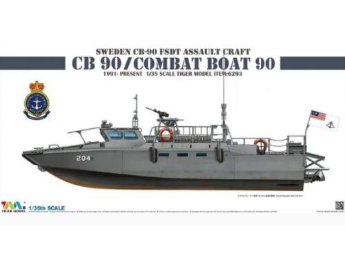 Tiger Model Sweden CB-90 FDST Assault Craft CB 90/ Combat Boat 90 1:35 (6293)