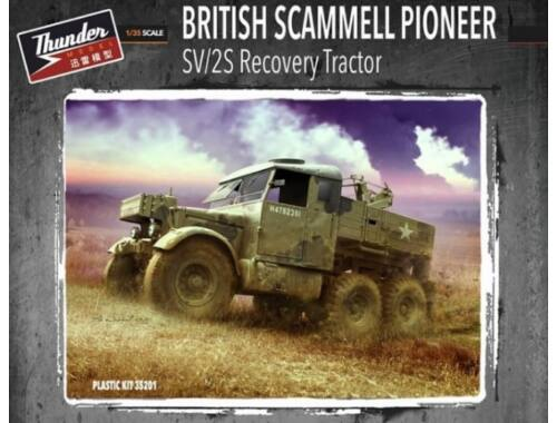 Thunder Model British Scammell Pioneer SV/2S Recovery Tractor 1:35 (35201)