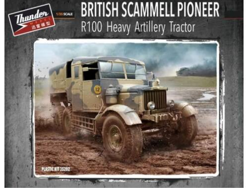 Thunder Model British Scammell Pioneer R100 artillery Tractor 1:35 (35202)