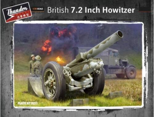 Thunder Model British 7.2 Inch Howitzer 1:35 (35211)