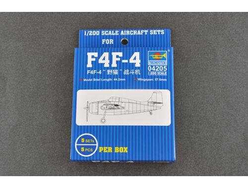 Trumpeter F4F 1:200 (04205)