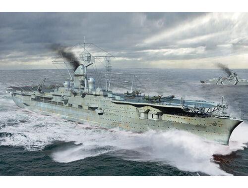 Trumpeter German Navy Aircraft Carrier DKM Peter Strasser 1:700 (6710)