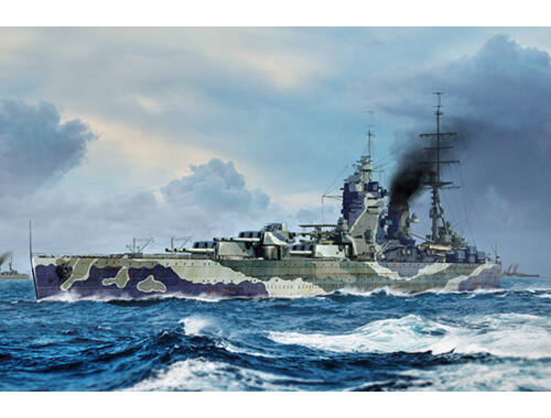 Trumpeter HMS Rodney 1:700 (6718)