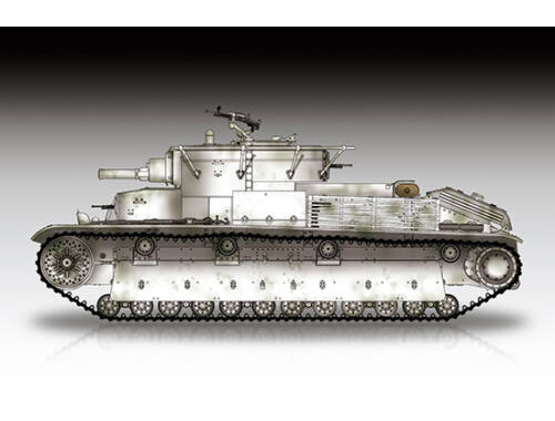 Trumpeter Soviet T-28 Medium Tank (Riveted) 1:72 (7151)