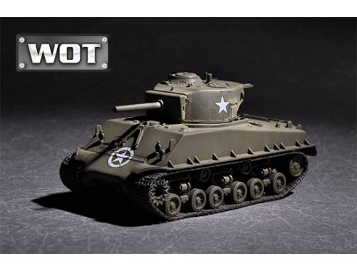 Trumpeter US M4A3E8 with 105mm M4 1:72 (7168)