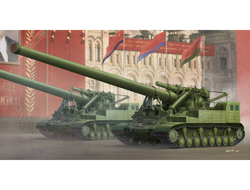 Trumpeter Soviet 2A3 Kondensator 2P 406mm Self- -Propelled Howitzer 1:35 (9529)