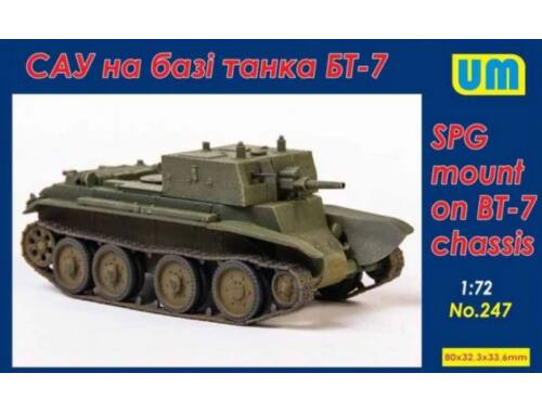 Unimodels SPG based on the BT-7 chassis 1:72 (247)