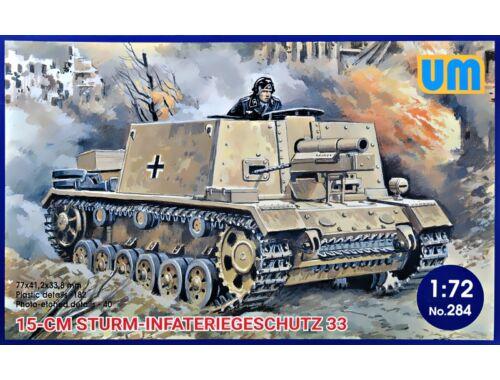 Unimodels 15cm Sturm-Infateriegeschutz 33 1:72 (284)