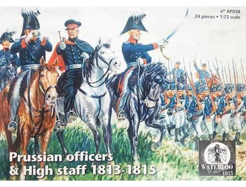 Waterloo Prussian Officers