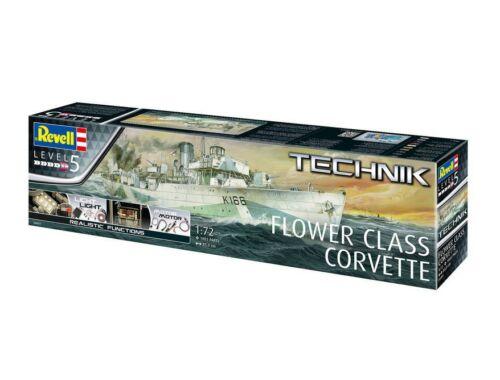 Revell Technik Flower Class Corvette 1:72 (0451)