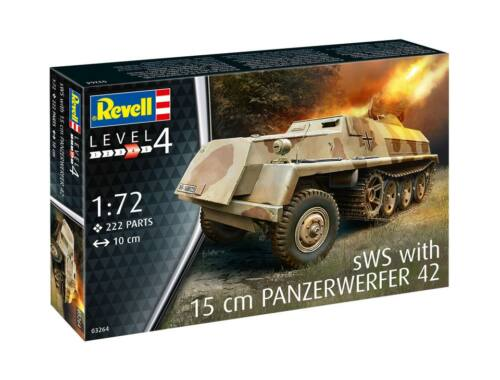 Revell sWS w/ 15 cm Panzerwerfer 42 1:72 (3264)