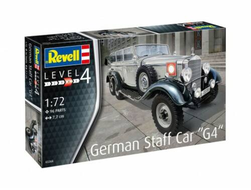 Revell German Staff Car G4 1:72 (3268)