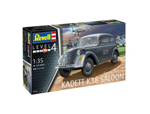 Revell German Staff Car Kadett K38 Saloon 1:35 (3270)
