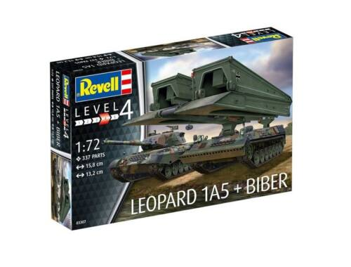 Revell Leopard 1A5   Bridgelayer Biber 1:72 (3307)