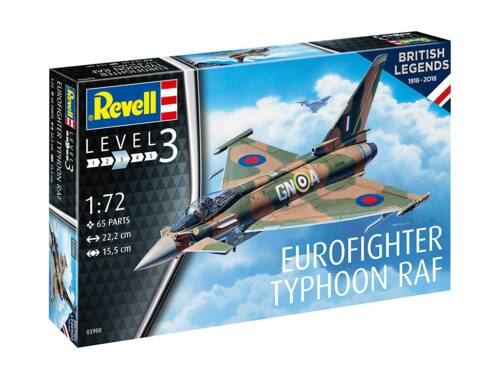 Revell 100 Years RAF: Eurofighter Typhoon RAF 1:72 (3900)