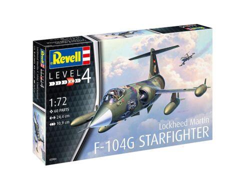 Revell F-104G Starfighter 1:72 (3904)