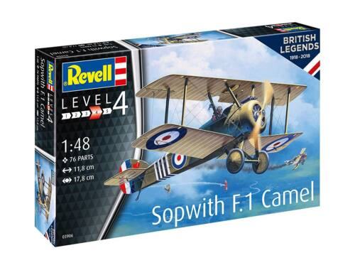 Revell 100 Years RAF: Sopwith Canel 1:48 (3906)