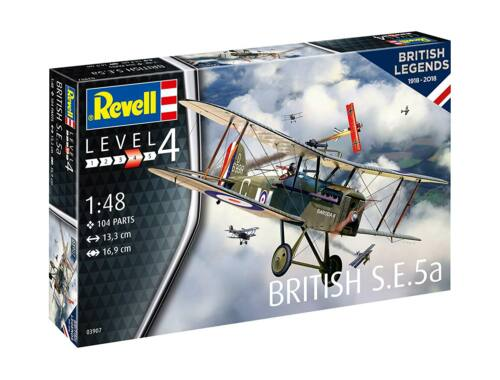 Revell 100 Years RAF: British S.E. 5a 1:48 (3907)