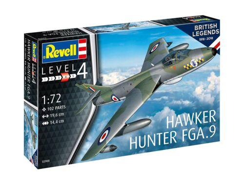 Revell 100 Years RAF: Hawker Hunter FGA.9 1:72 (3908)