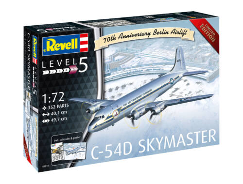 Revell C-54D Berlin Airlift 701th Anniversary 1:72 (3910)