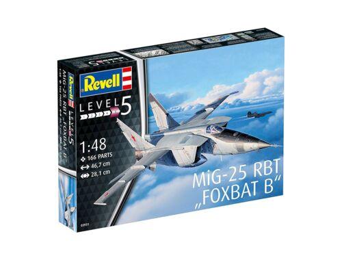 Revell MiG-25 RBT 1:48 (3931)