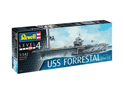 Revell Aircraft Carrier USS Forrestal 1:542 (5156)