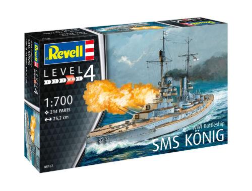 Revell WWI Battleship SMS Koenig 1:700 (5157)