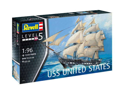 Revell USS United States 1:96 (5606)