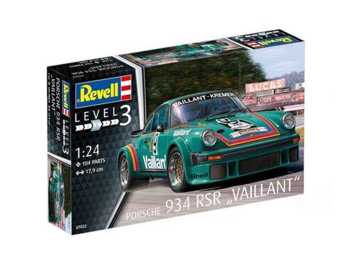 Revell Porsche 934 RSR Vaillant 1:24 (7032)