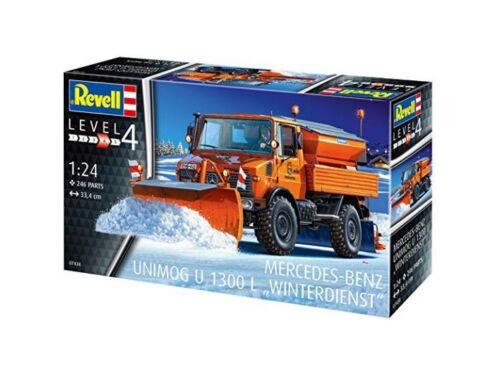 Revell Unimog U1300L Winterdienst 1:24 (7438)