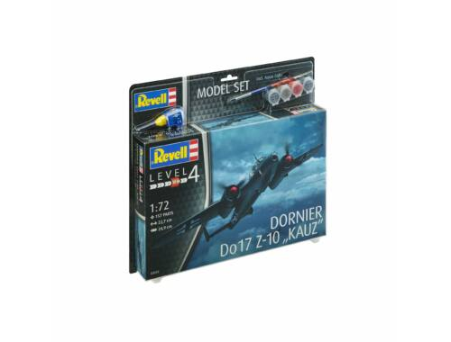 Revell Model Set Model Set Dornier Do17Z-10 1:72 (63933)